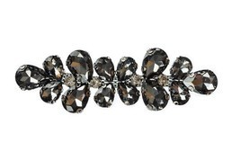 10 x 3cm Black Crystal Rhinestone Diamante Motif Fashion Accessory DIY P... - €5,69 EUR