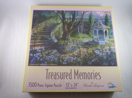 Sandra Bergeron~Treasured Memories 1500 Piece Jigsaw Puzzle by SunsOut I... - $7.91