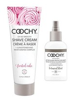 Coochy Moisturizing Shave Cream and After Shave Mist- Rash Free Conditio... - $39.55