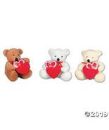 Valentine Stuffed Bears with Pocket Hearts - $20.10