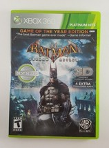 Batman: Arkham Asylum -- Game of the Year Edition (Microsoft Xbox 360, 2... - $4.99