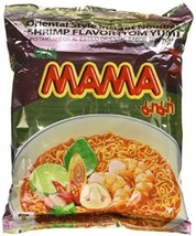 Mama Tom Yum Shrimp Flavour Instant Noodles 30 Packages Hot Water Boil I... - $24.72