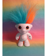 2013 WowWee Elektrokidz Electronic White Dancing Hair Troll Orange & Aqu... - $7.87