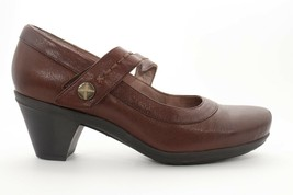 Abeo Raquel  Mary Jane Pumps Brown Size 8.5  Neutral Footbed ( )5060 - $90.00