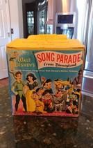WALT DISNEY'S SONG PARADE FROM DISNEYLAND (1955) Golden Record Chest Ser... - $84.95