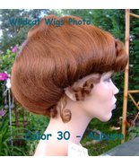 GIBSON GIRL WIG . COLOR CHOICE! ..Gorgeous! Theatre ..Cinderella . Beaut... - $39.99