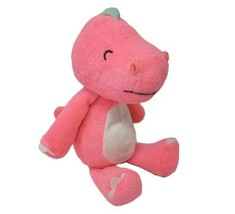 Carter's Bébé Brillant Rose Dinosaure #60106 Peluche Animal Jouet Adorable 2014 - $54.95