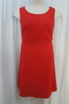 Anne Klein Suit Separates Dress Sz 10 Roma Red Sleeveless Business Cockt... - $59.35