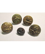 Australia British & Canadian Air Force Buttons Lot Most WWII Era Kings C... - $7.95