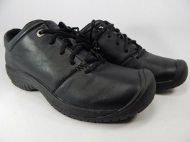 Keen PTC Oxford Size US 9 M (B) EU 39.5 Women's Lace Up Work Shoes Black 1006999