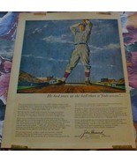 Baseball Magazine Ads - 4 diff. Mathewson, Gehrig, Hubbell, Ott ++ - $29.70