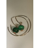Threader Hoop Earrings - $35.00
