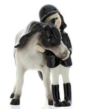 Hagen-Renaker Specialties Ceramic Horse Figurine Big Sister and her Pinto Pony image 3