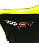 C6 Corvette Crossed flag Metal Under hood Emblem 05-13 - $76.90+