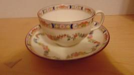 Vintage Tea Cup &Saucer Demitasse Display England-Coffee-Shabby Chic-Bird Feeder - $7.99