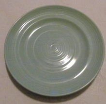 Concentrix Sea Mist (Green) by Lynn's China Stoneware Large Salad Plate ... - $8.99