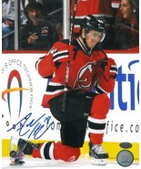 Adam Henrique signed New Jersey Devils 8x10 Photo vertical on knee - $15.00