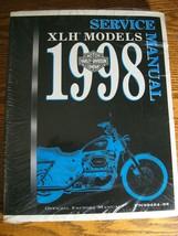 1998 Harley-Davidson Xlh Sportster 1200 883 Service Repair Shop Manual New - $117.81