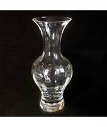 "1 (One) LENOX OPTIKA Oriental Crystal Flower 10"" Vase Signed DISCONTINUED - $27.71"