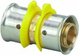 "Viega 93091 Zero Lead Bronze PEX Press Coupling w/ 2""x1-1/2"" Press x Press - $50.00"