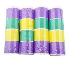 4 Rolls of Mardi Gras Party Serpentine Throws - $4.16