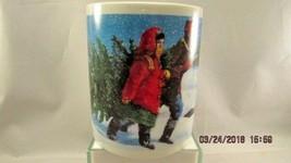 Starbucks Christmas Tree Kids and Dog  14 Ounce Coffee Mug Cup made in t... - $12.19