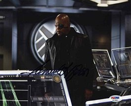 Samuel L Jackson 'Avengers' Signed 8x10 Photo Certified Authentic PSA/DNA COA - $395.99