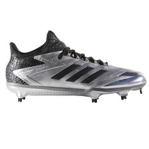 Adidas Adiizero Afterburner IV Silver Chrome 11.5 Baseball Cleat $120 CL... - $48.00