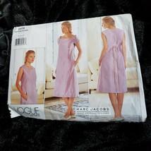 VOGUE American Designer Pattern Marc Jacobs 1793 Size 8 10 12 Dresses UNCUT - $17.75