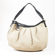 """Gucci Beige Canvas & Leather """"Sukey Hobo"""" Bag - $435.00"""