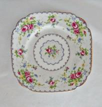 Royal Albert Petit Point Chintz Bone China Bread Plate - $15.83