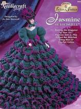 Jasmine Of Louisville Gown For Barbie Dolls Crochet Pattern Leaflet Rare - $7.17