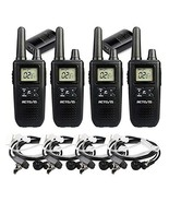 Retevis RT41 NOAA Walkie Talkies with Earpiece VOX 22 Channels 121 Priva... - $64.42