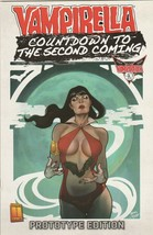 Vampirella Countdown to Second Coming #0 NM- 2009 Harris Comics Prototyp... - $59.39