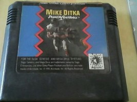 MIKE DITKA POWER FOOTBALL - SEGA GENESIS - Game cartridge only! - $3.27