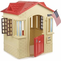 Outdoor Playhouse Cottage Garden Backyard Pretend Toddler Play House Toy... - $199.00