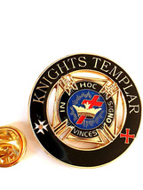 knights templar limited edition pin Lapel Pin Badge / tie pin, Lapel Pin Badge