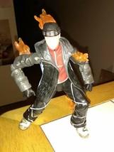2005 Marvel Fantastic Four Snowboarding Human Torch Action Figure - $6.83
