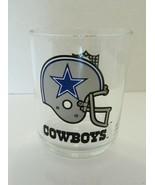 Dallas Cowboys 1990'S NFL Rocks Old Fashion Glass Vintage 12 ounces - $14.84