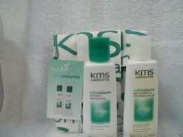 KMS California ADD VOLUME (1 Shampoo & 1 Conditioner) 2.5 fl oz Each ~Tr... - $8.24