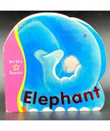 Elephant Board Book Bright Sparks Heather Henning 12 mos+ 2001 Childrens... - $24.95