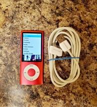 Apple iPod Nano 5th Generation Pink 8GB A1320 MC050LL/A - $42.70
