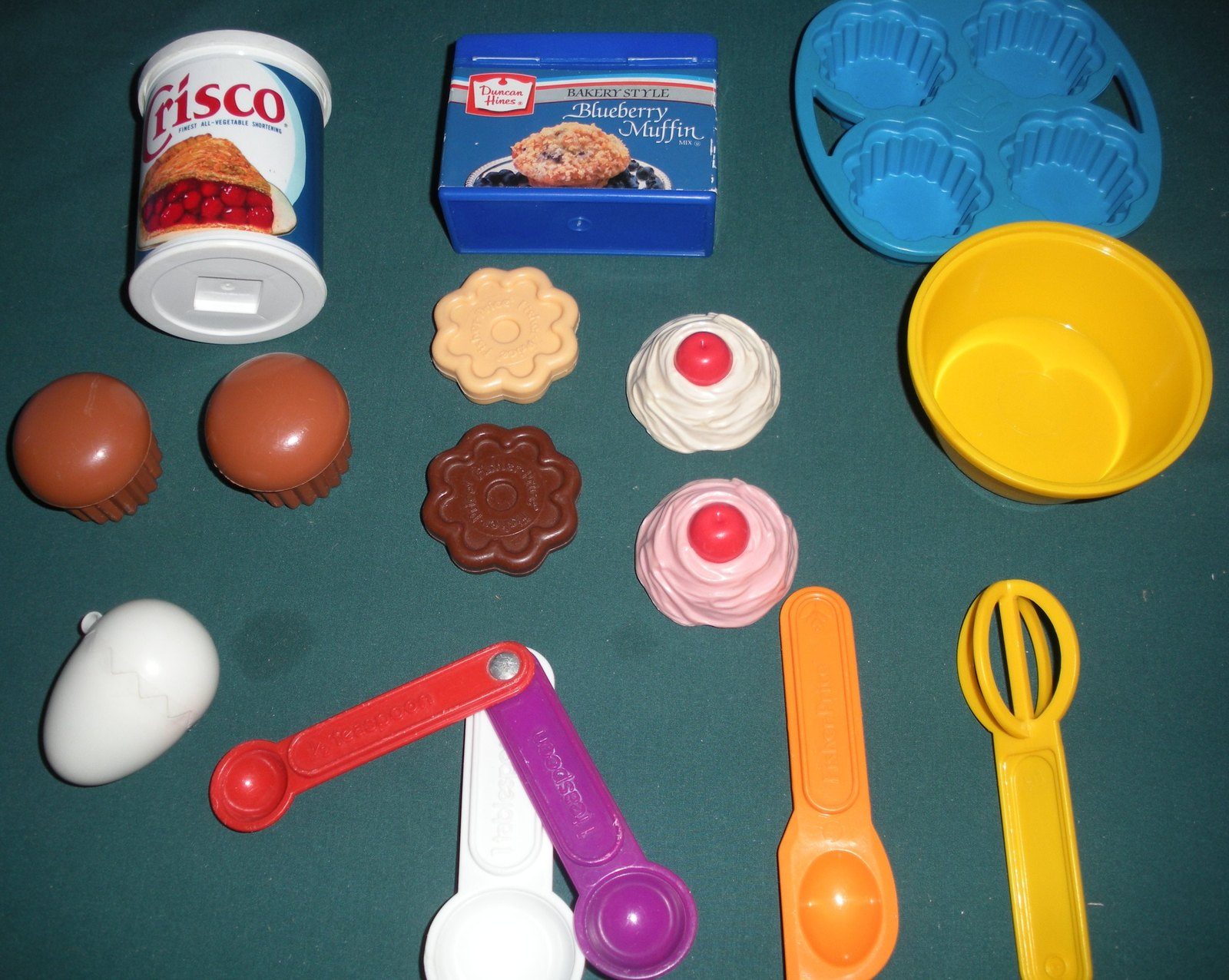 Vintage Fisher Price Fun with Food #6502 Baking Fun  Complete/EXC+++ (F)