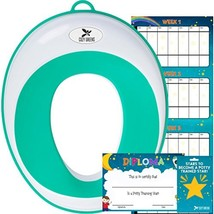 Potty Training Seat for Boys and Girls | Toddler Potty Ring | Fits Most Round an