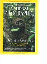 National Geographic February 2000 Orphan Gorillas, Black Dragon River, A... - $1.03
