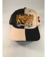 Austria Baseball Style Cap Checkerboard Black And Beige - $14.84