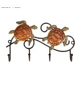 Metal Turtle Wall Hook - $318,65 MXN
