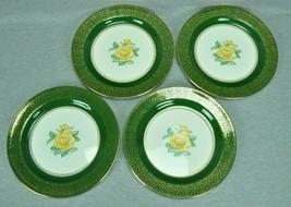 Homer Laughlin Lady Greenbriar Nautilus Dinner Plate Set Of 4 - $67.95