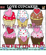 Love Cupcakes Clip Art - $1.35