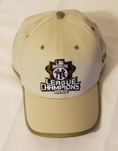 NY Yankee League Champions 2001 Beige Baseball Cap One Size Adjustable P... - €15,75 EUR
